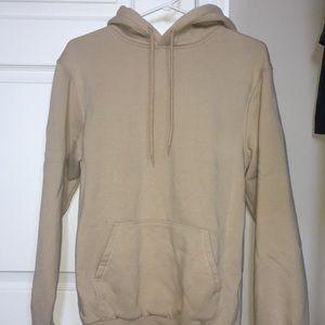 Tan hoodie